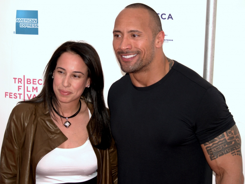 Dany_Garcia_and_Dwayne_The_Rock_Johnson_2009_Tribeca