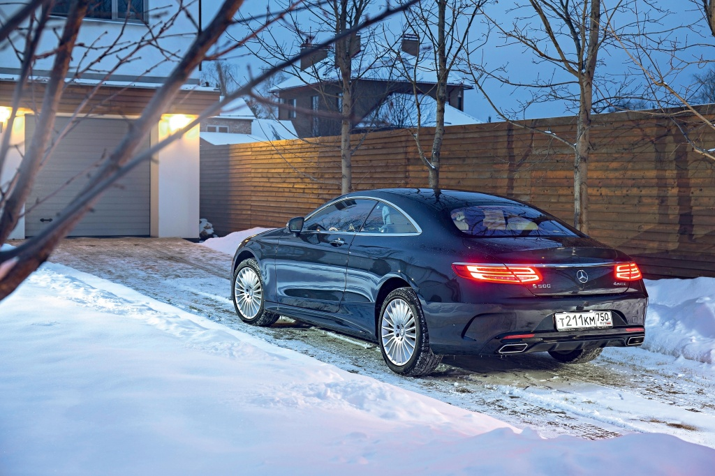 Тест-драйв Mercedes-Benz S 500 Coupe: эгоцентрист