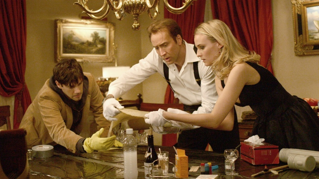 National-Treasure-Book-of-Secrets-Nicolas-Cage--And-Diane-Kruger-Wallpapers
