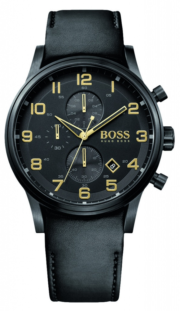 Boss Black Out Aeroliner Chrono