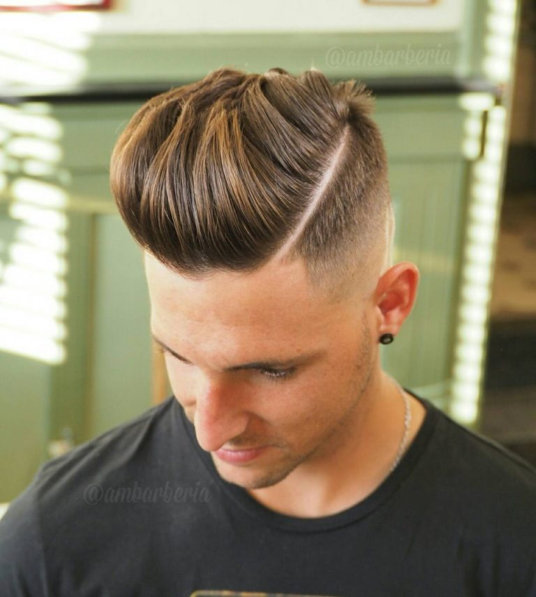 ambarberia-pompadour-hard-part-high-fade-haircut-for-men-768x855