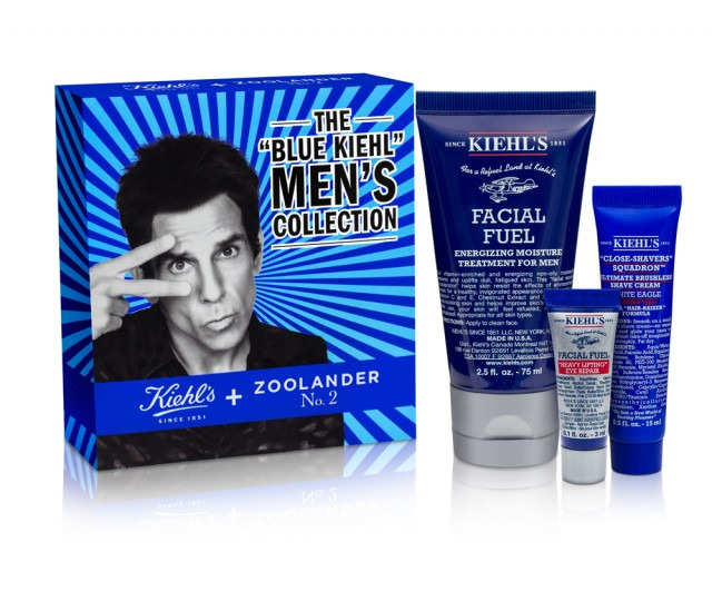 Zoolander Blue Kiehl Mens Collection