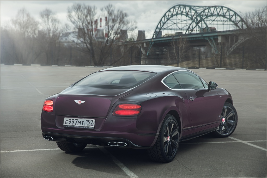 Тест-драйв Bentley Continental GT V8 S